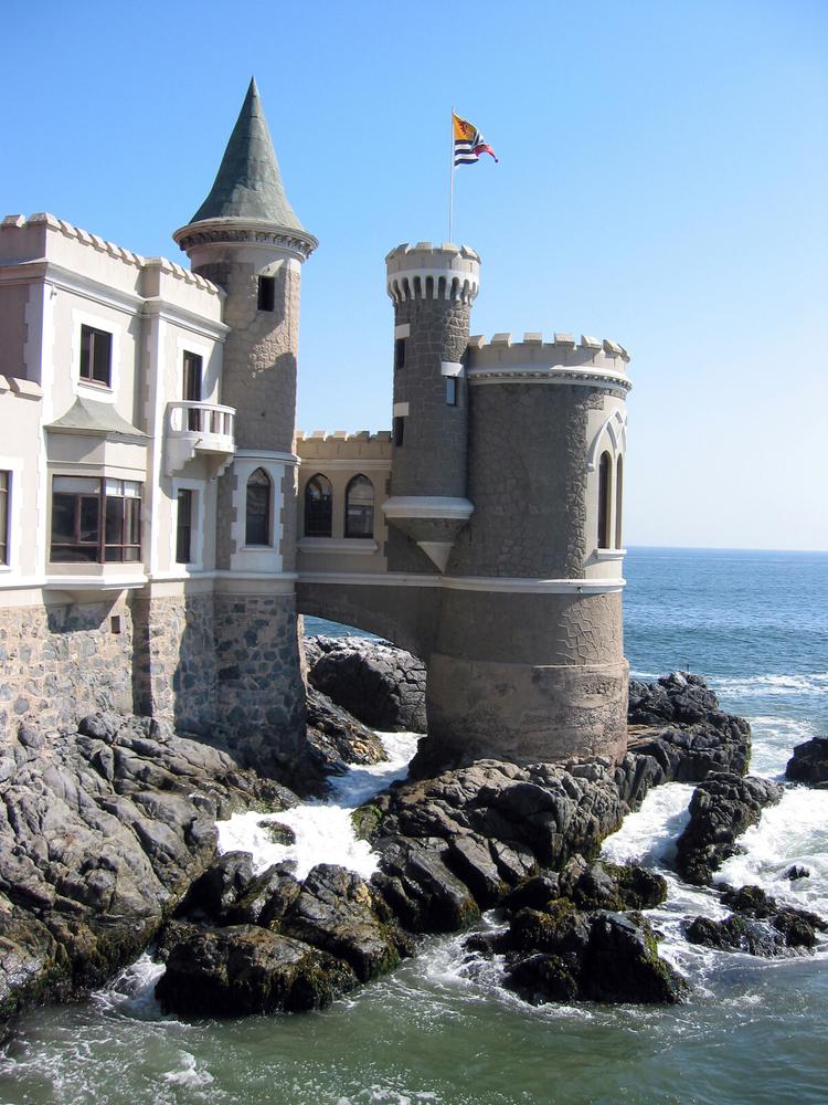 Castillos y palacios en vi a del mar turismo chile for Diseno de muebles vina del mar